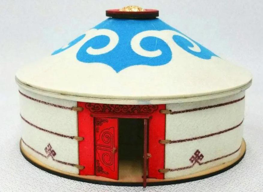 蒙古族布剪艺术
