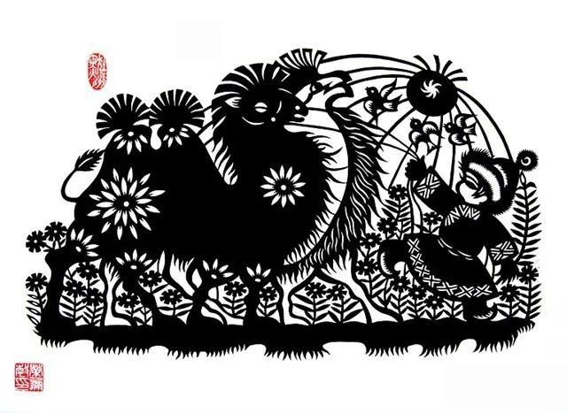 蒙古族剪纸艺术