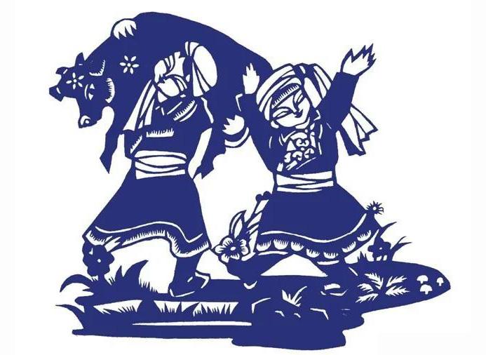蒙古族民间艺术——剪艺